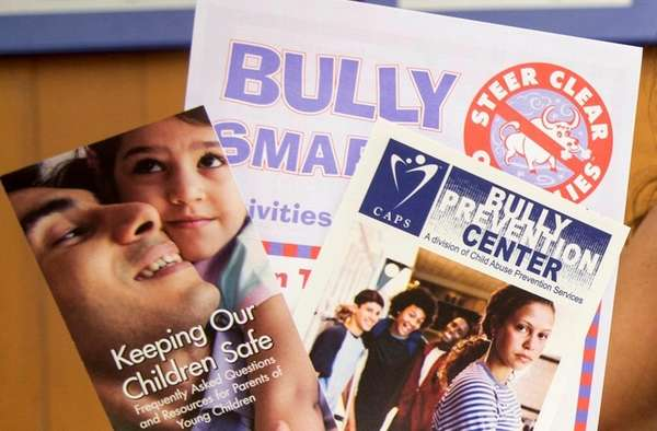 CAPS Bully Prevention pamphlets July 24, 2017, in