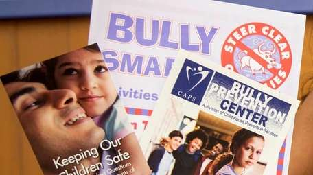CAPS Bully Prevention pamphlets July 24, 2017 in