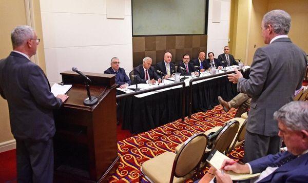 Members of the Nassau Interim Finance Authority board