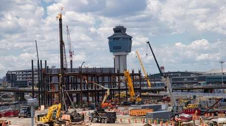 Travelers using LaGuardia Airport during Labor Day weekend