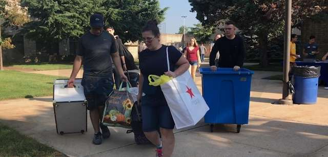 Hofstra University kicked off its welcome week for