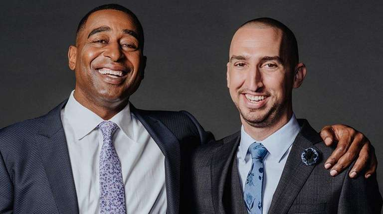 Cris Carter, left, and Nick Wright will host