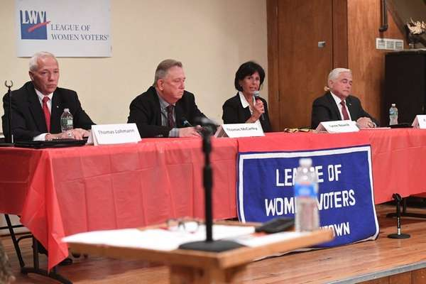 Candidates for the Smithtown's Town Board square off
