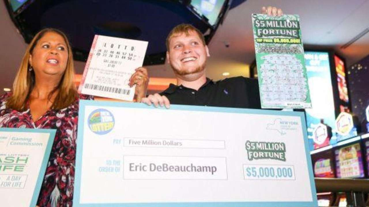 Among New York State's newest lottery winners is