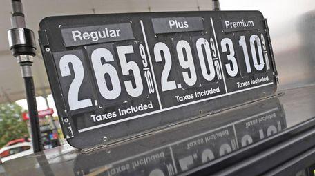 Gas prices at $2.65 for regular at Speedway