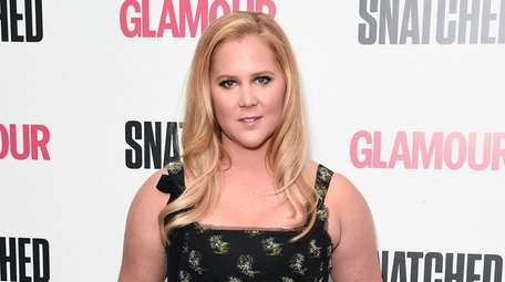 Amy Schumer, who is currently in Boston filming