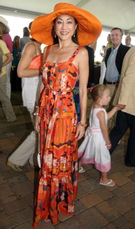 Bridgehampton- August 30:(l-r) Philanthropist Lucia Hwong Gordon attends