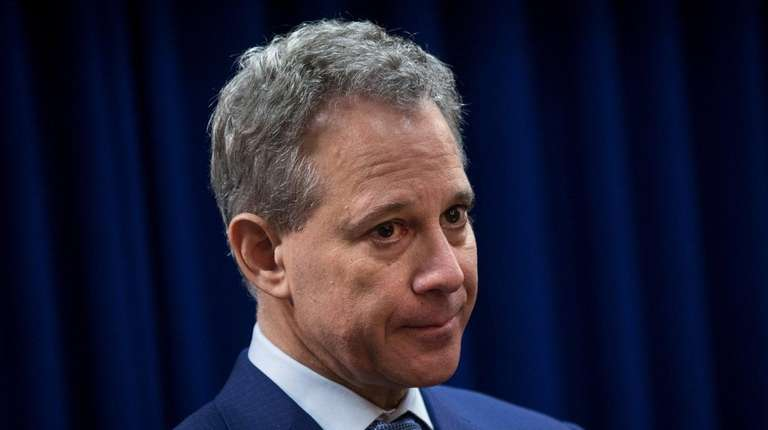 New York State Attorney General Eric Schneiderman has