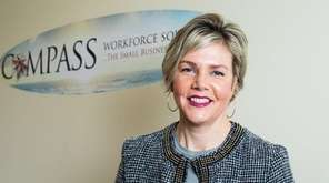 Christine Ippolito of Compass Workforce Solutions, seen here