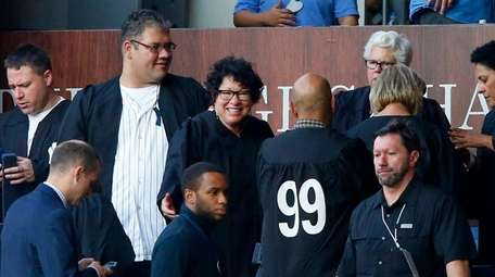 United States Supreme Court Justice Sonia Sotomayor visits