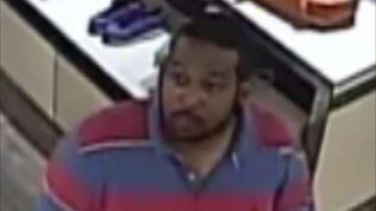 Police released this photo of a man they