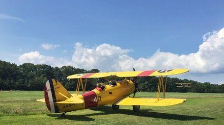 An NAF N3N-3 bi-plane (dating to 1940 --