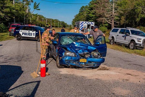 Calverton Car Accident