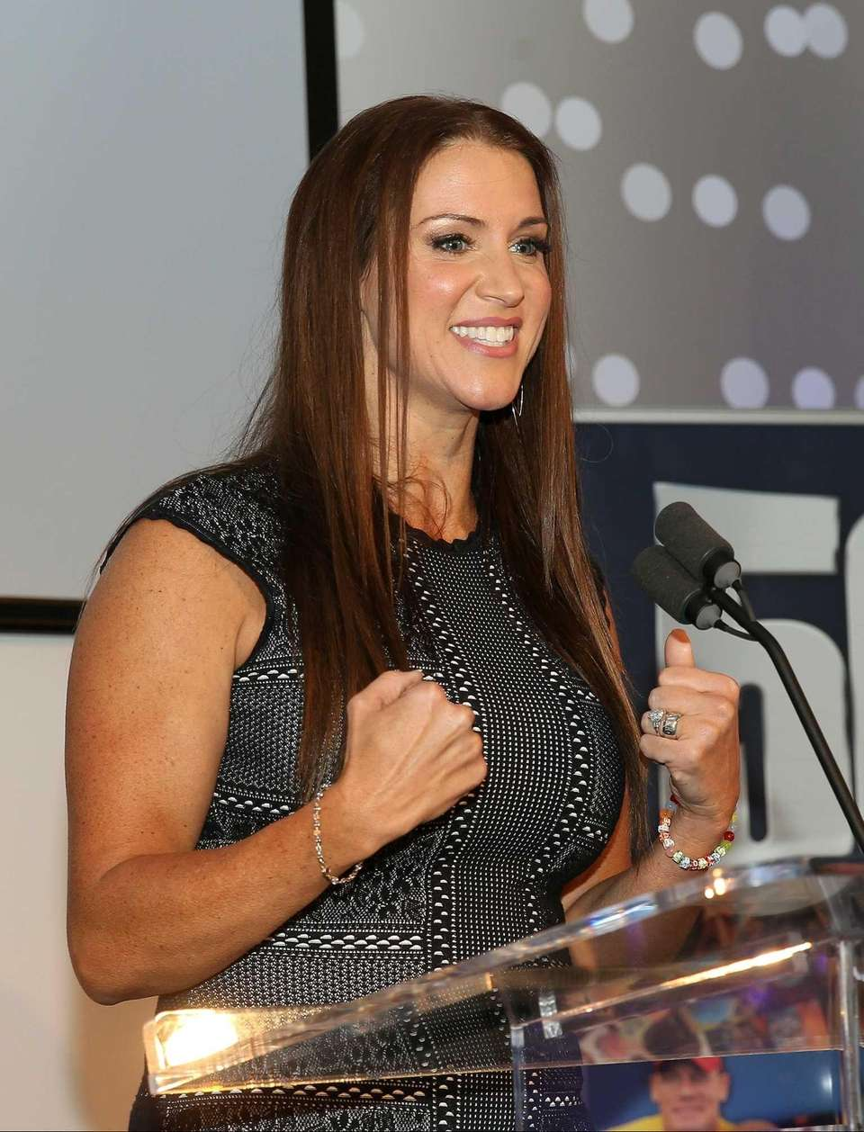 Stephanie McMahon was born on Sept. 24, 1976.