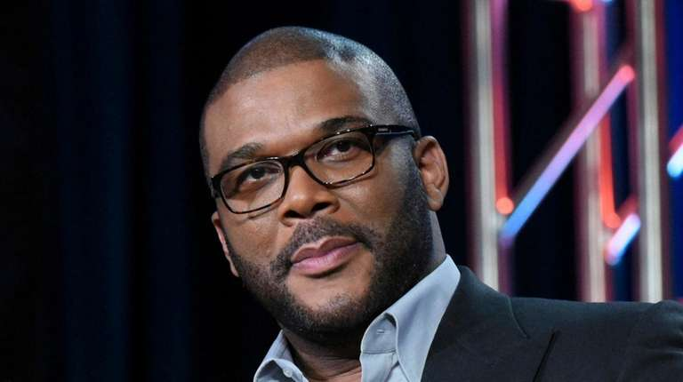 Tyler Perry attends a panel for