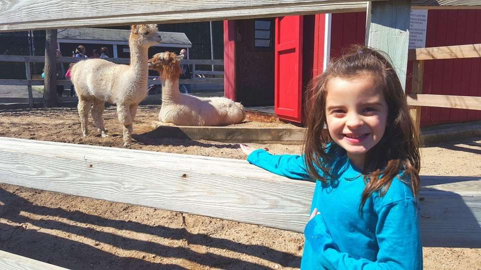 Emma Gagliano Enjoying a day at The Holtsville