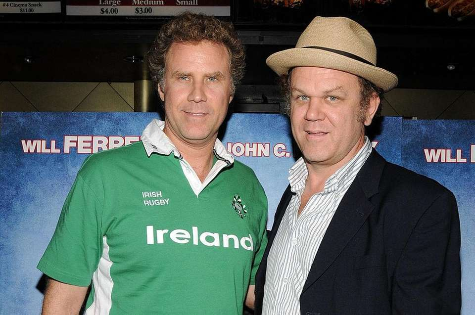 Will Ferrell and John C. Reilly met while