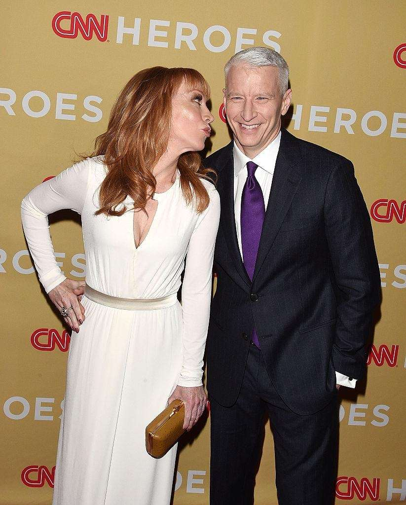 Kathy Griffin's closest celebrity friendship is with news