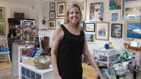 Debi Wickliffe, owner of The Catbird Seat in