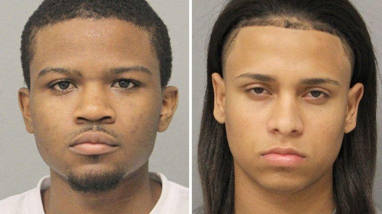 Marcos Camue, 18, and Kelvin Garcia, 19, were