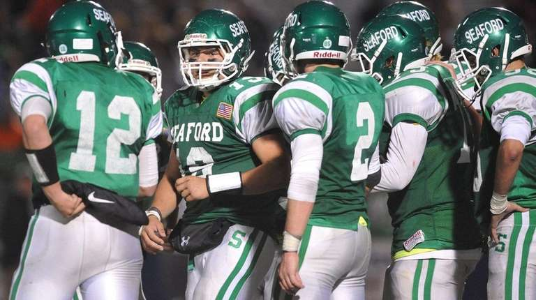 Nick Calandra and teammates close in on a