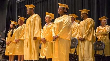 Roosevelt High School students who got their diplomas