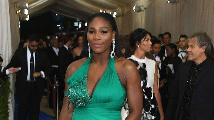 98c04b3150b Serena Williams and fiance Alexis Ohanian welcomed a