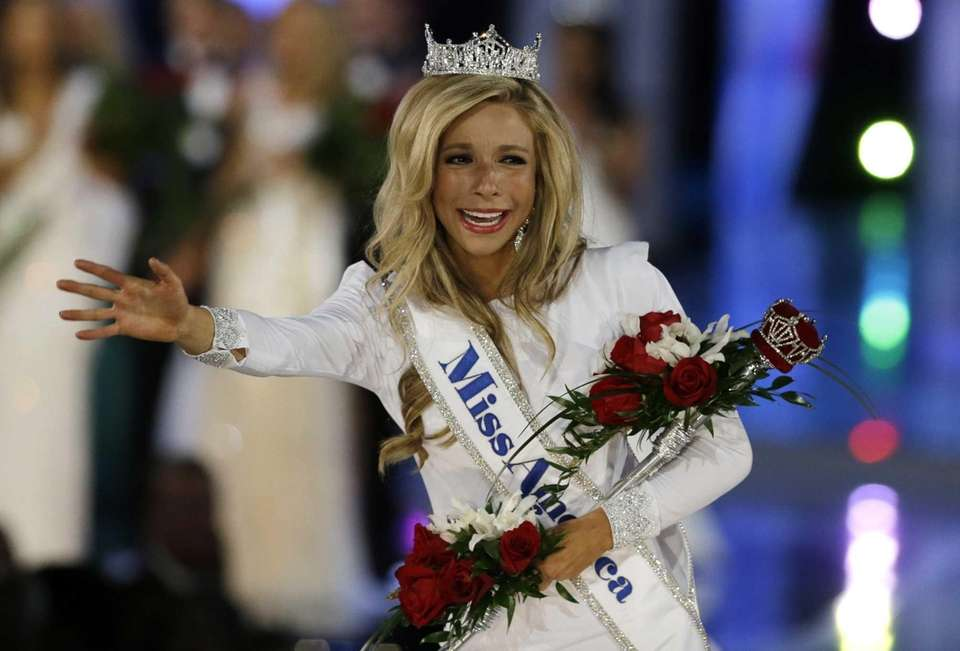 Miss New York, Kira Kazantsev, was named Miss