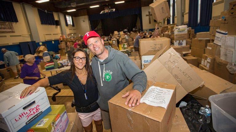 Tim Kramer and Christina Tisi-Kramer, of Long Beach,