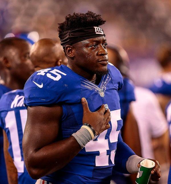 Will Tye of the Giants