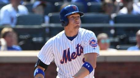 Brandon Nimmo, here hitting a double for