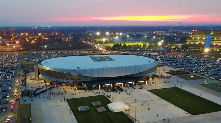 NYCB Live's Nassau Veterans Memorial Coliseum, seen on