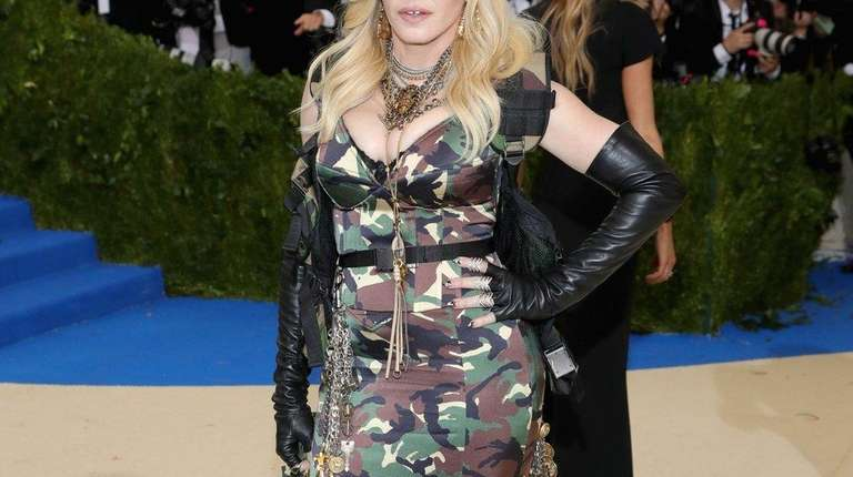 Madonna, seen here at the Costume Institute Gala