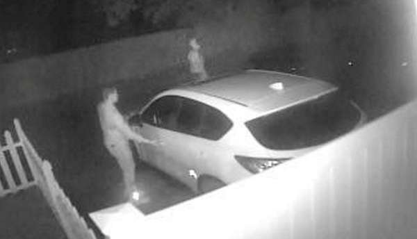 Suffolk police are trying to identify two men