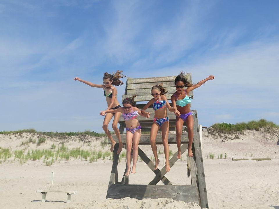 Jumping into summer fun at Sailors Haven, Fire