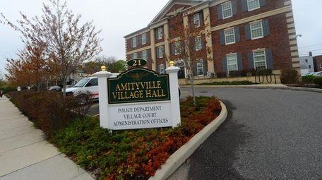 Amityville Village Hall on April 26, 2014. Amityville