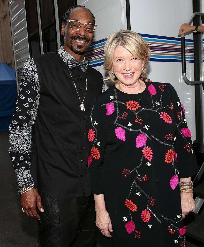 This unlikely pair met when Snoop Dogg made