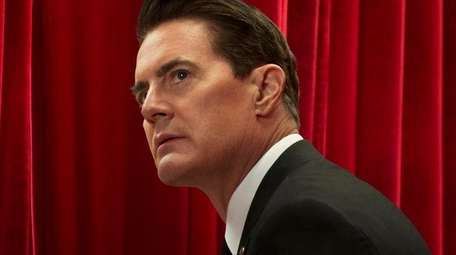 Kyle MacLachlan stars as FBI agent Dale Cooper