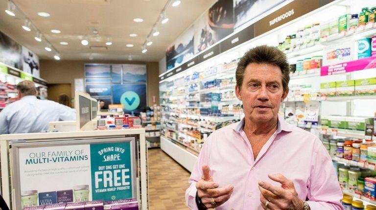 Vitamin World chief executive Michael Madden at the