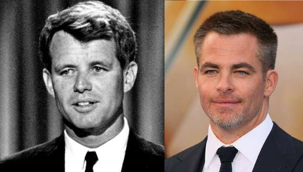 Chris Pine and Hulu Team for Robert F. Kennedy Limited Series