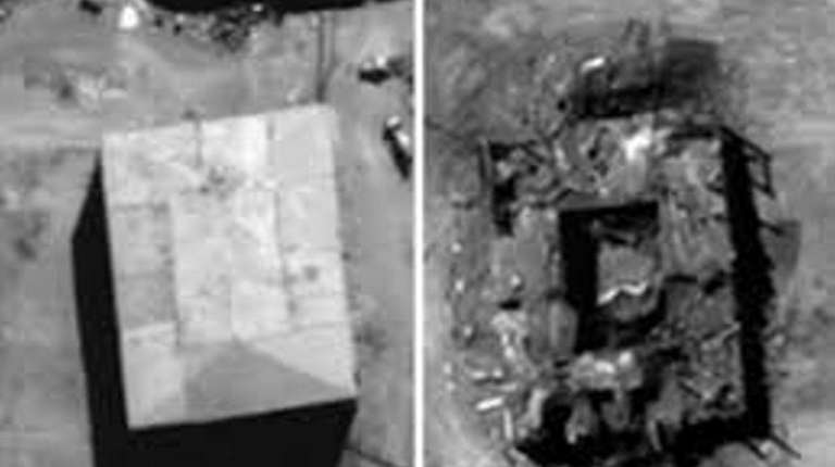 Syria reactor before and after 2007.