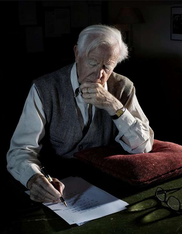 John le Carré, author of