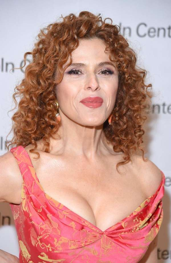 Tony winner Bernadette Peters, seen here on July