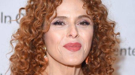 Tony winner Bernadette Peters, seen here on July
