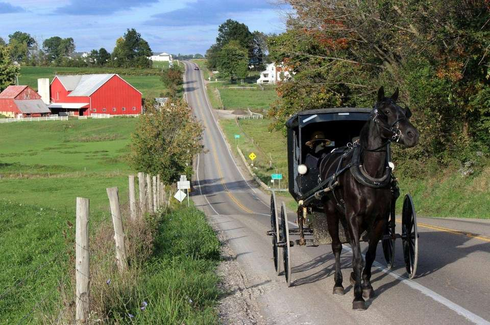 Workers in Lancaster County, known to tourists as