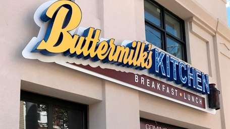 The site of Buttermilk's Kitchen, on West Main