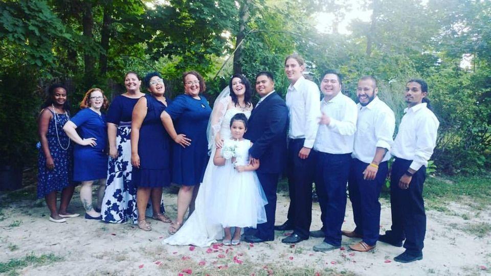 THE WEDDING PARTY! Mario Velez & Jessica Werner