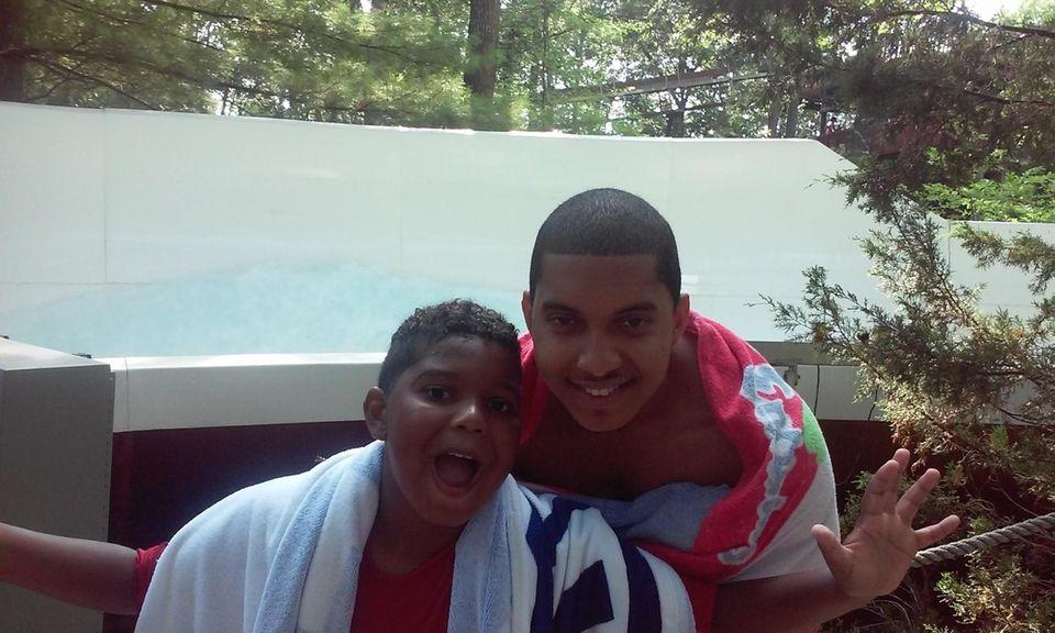My two sons Justin & Travis at Splish