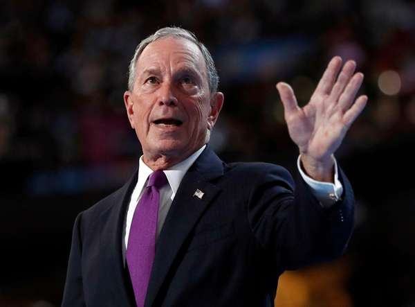 Former New York City Mayor Michael Bloomberg, after
