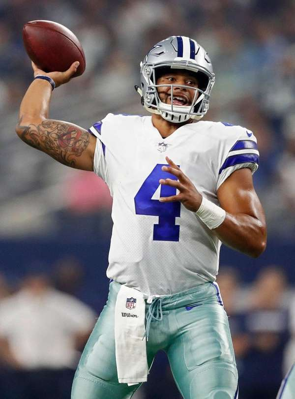 As a rookie, Dak Prescott led Dallas to